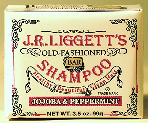 J.R. Liggett'S Shampoo Bar, Jojoba And Peppermint, 3.5 Oz (2-Pack) front-659142