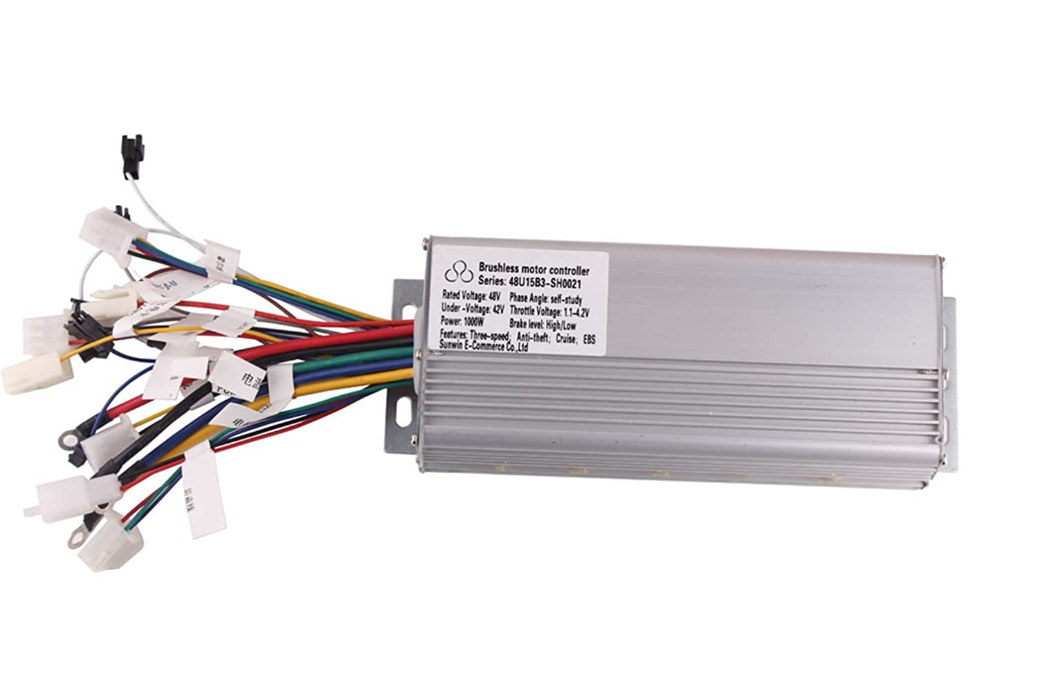 Sunwin 48v 1000w electric bicycle brushless speed motor for Electric bike motor controller