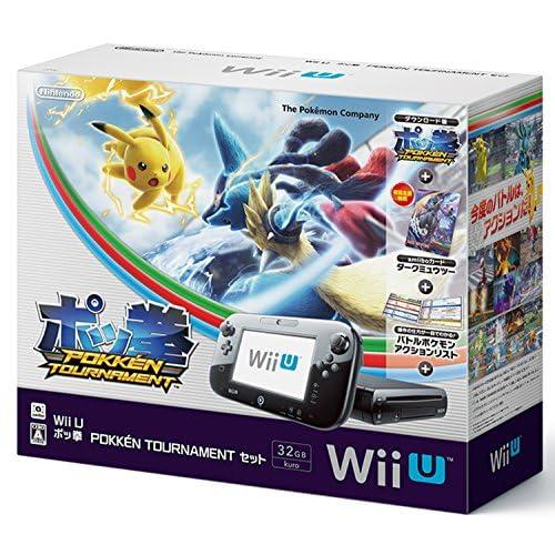 Wii U ポッ拳 POKKEN TOURNAMENT セット (【初回限定特典】amiiboカード ダークミュウツー 同梱) 【Amazon.co.jp限定】ポケモンキャラクター アクリルキーホルダー 付