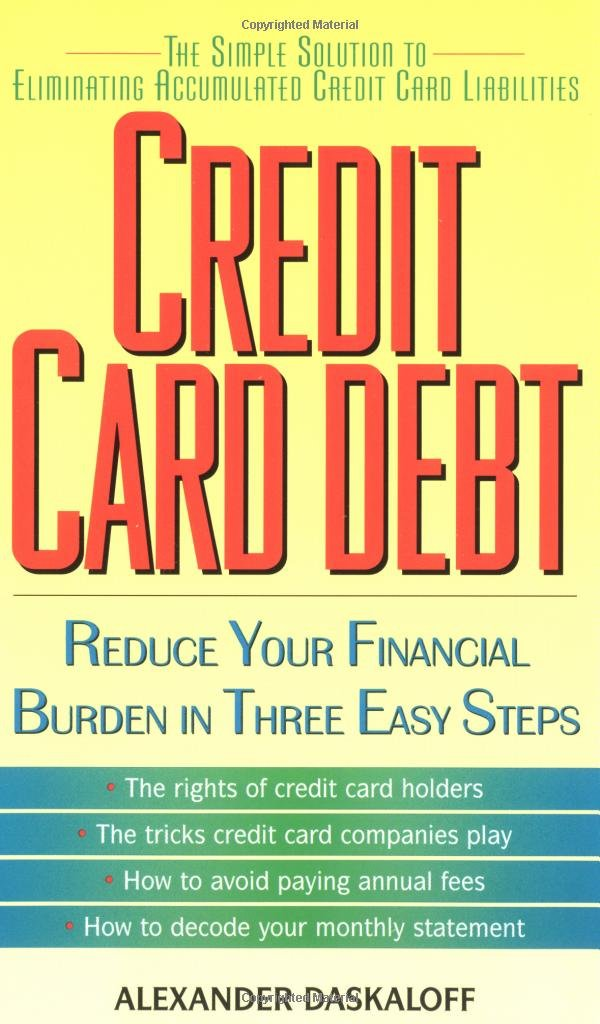 Credit Card Debt: Alexander Daskaloff: 9780380807000: Amazon.com ...