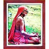 1504-Kanchi Sankarachariyar-Teak (30.5x35.5)