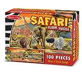 Melissa & Doug Safari Floor Puzzle 100 pcs