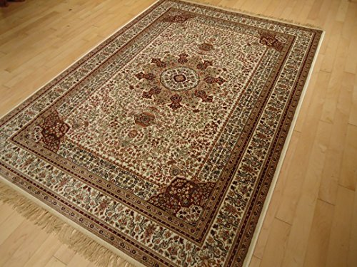 Silk ivory rugs persian tabriz rug 7x10 living room rugs for Living room rugs 6x9