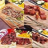 竹串付き味付け生肉キューブ5種お得セット (20% OFF) (ケバブ) 【販売元:The Meat Guy(ザ・ミートガイ)】 ランキングお取り寄せ