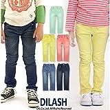 (ディラッシュ) DILASH春'16/5色ウルトラパウダーのびのびストレッチデニムスキニーパンツ 140 ネイビー
