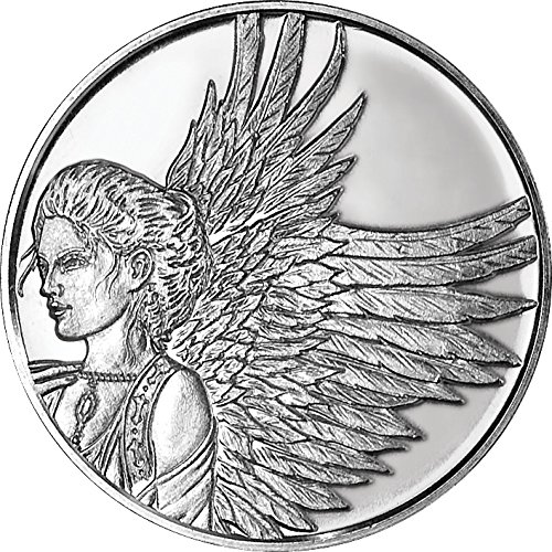 Angelstar 1296 Reflection Coin, 1-1/4-Inch