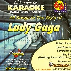 Chartbuster Karaoke 6X6 CDG CB40493 - Lady Gaga