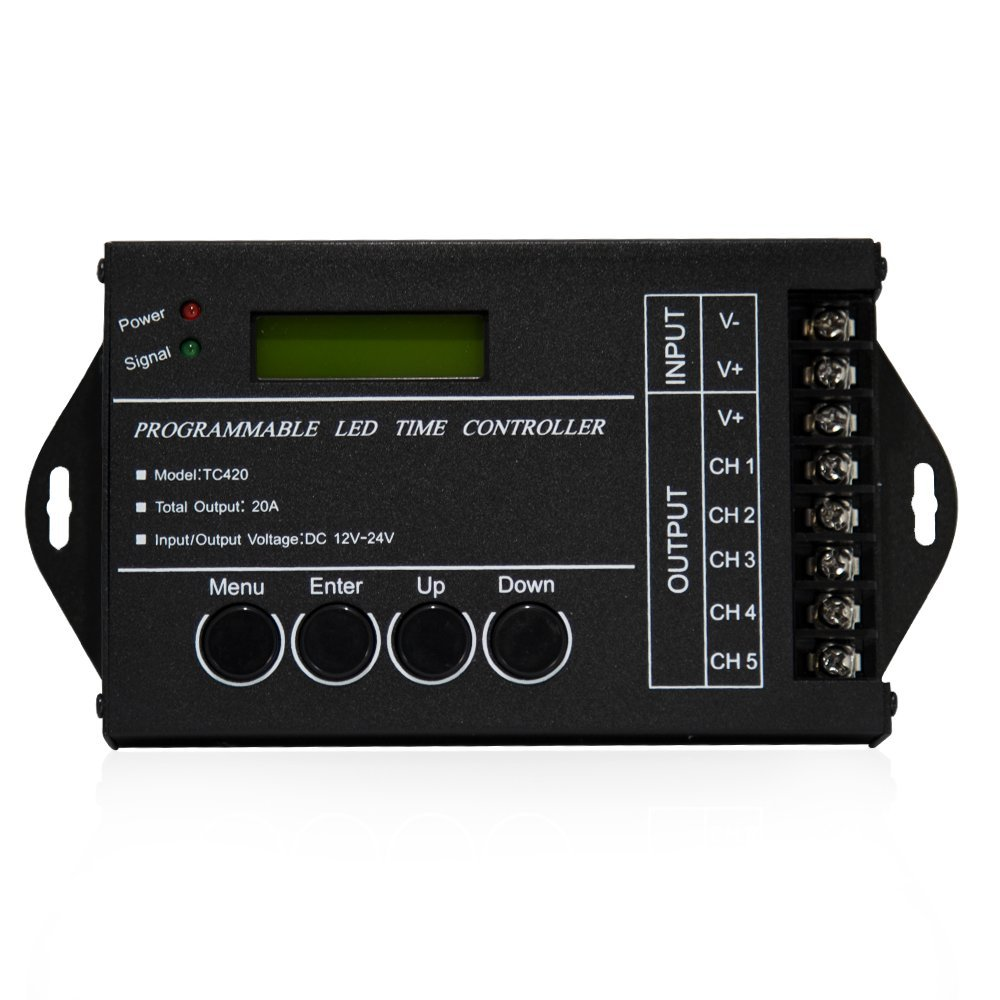 Programmable LED Time Controller