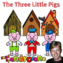 The Three Little Pigs Audiobook by Tim Firth Narrated by Andy Crane