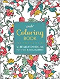 Posh Adult Coloring Book: Vintage Designs for Fun & Relaxation
