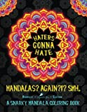 img - for Haters Gonna Hate: A Snarky Mandala Coloring Book: Mandalas? Again?!? SMH: Midnight Edition: A Unique Funny Black Background Paper Adult Coloring Book ... Stress Relief & Art Color Therapy) (Volume 3) book / textbook / text book