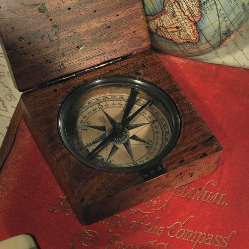 Authentic Models Compass Reproductions From Lewis & Clark Expedition, Lensatic Compass