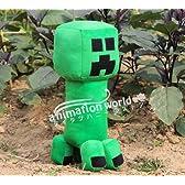 大人気コスプレ小道具/小物♪Minecraft(マインクラフト)クリーパー(Creeper) ぬいぐるみ 人形 50cm コスチューム
