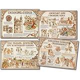 Carson Dellosa Mark Twain Medieval Times Bulletin Board Set (410006)