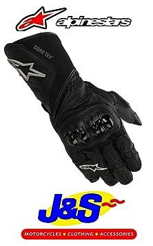 Alpinestars 365X-TRAFIT Gants en cuir moto gants de moto Noir J & S