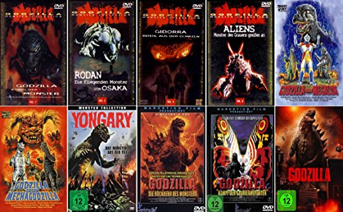 BEST OF GODZILLA - BOX COLLECTION ( 10 ausgewählte Godzilla-Filme ) [10 DVDs]