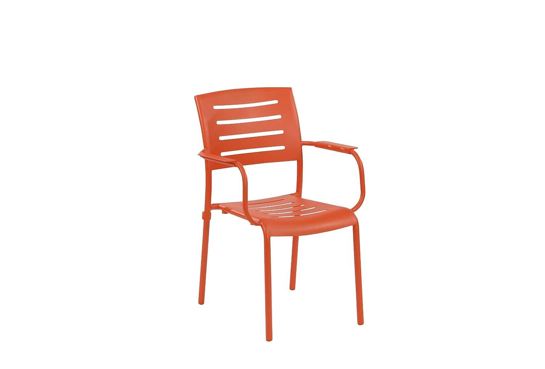 Stapelstuhl Ronda Farbe: Orange günstig online kaufen