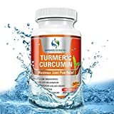 Turmeric Curcumin by Supreme Potential ® 200 Capsule Size 900mg per serving, With Black Pepper for Maximum Effectiveness Joint Pain Relief! Highest Quality, Anti-Inflammatory Herbal Product.
