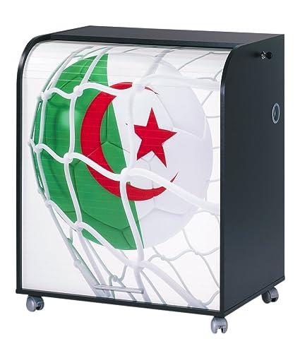 Simmob MUST095NO962 Algeria 962 Pallone Coppa del mondo informatico mobile legno, 53,2 x 79,2 x proprietà al 93,8 cm