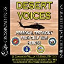Desert Voices Audiobook by William H. LaBarge Narrated by Jack Chekijian