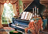 Amazing Grace, Black Piano, Judy Gibson, 2000 Piece By Castorland Puzzles