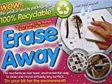 Oven Pride Erase Away Magic Stain Remover White Foam Pads - Value Pack of 12 Sponges