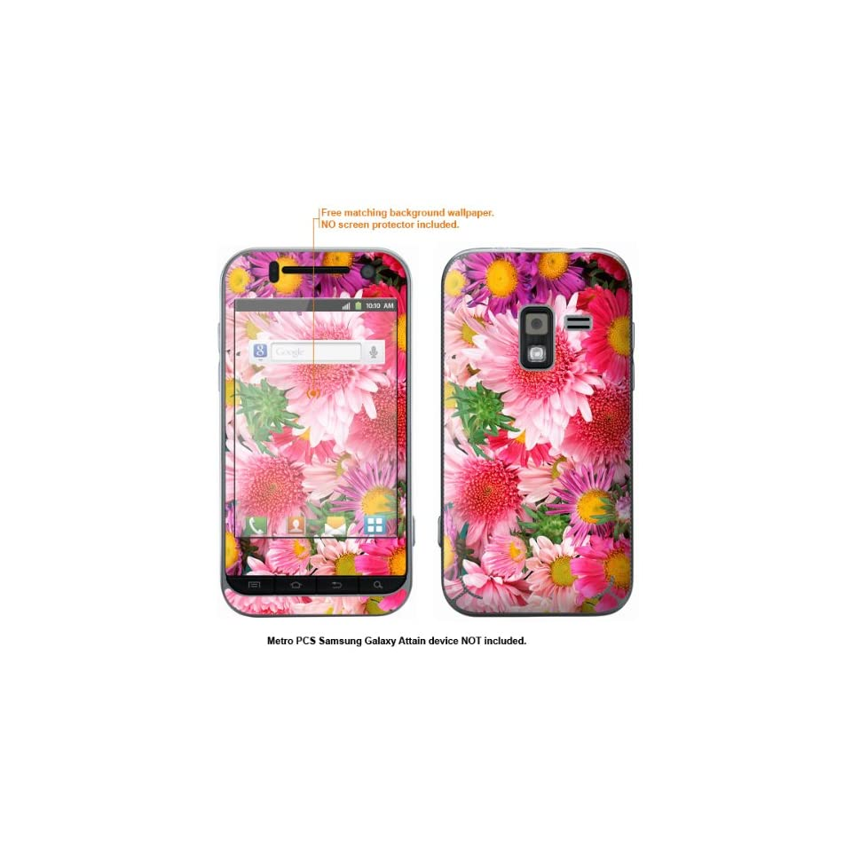 Protective Decal Skin Sticker for Metro PCS Samsung Galaxy Attain 4G case cover Attain 313
