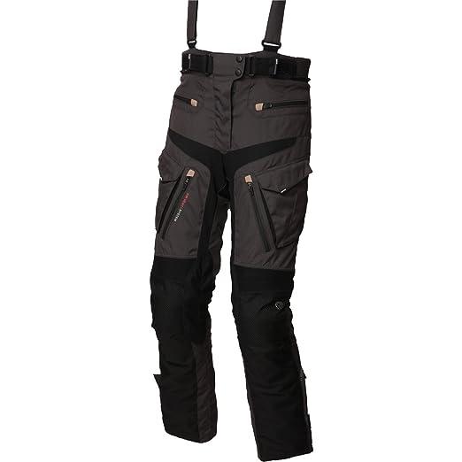 Modeka x-rENEGADE lADY pantalon en textile pour femme noir/gris foncé