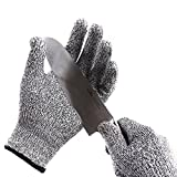 Cut Resistant Gloves - Kitchen Cooking Cutting Proof - Food Grade Hand Protector, Safety for Chef