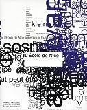 echange, troc Leclerc Franck, Ralph Hutchings - Ecole de Nice. Paroles d'Artistes (l')