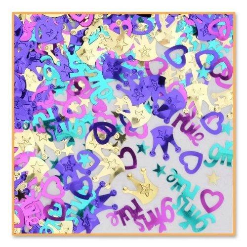 Beistle CN073 Girls Rule Confetti
