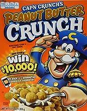 Quaker cap?n crunch?s peanut butter 355 g