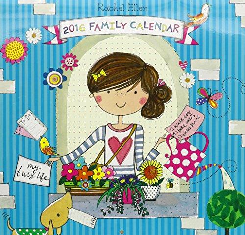 Rachel Ellen SQ Family Sticker Calendar (Busy Life)