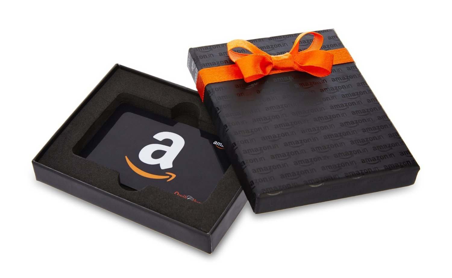 Amazon.in Gift Card in a Black Box