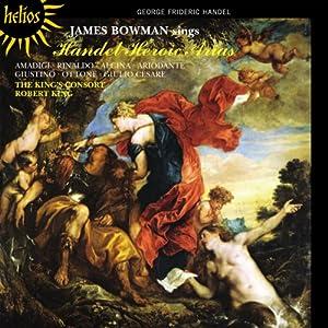 Handel: Heroic Arias (Hyperion: CDH55370)