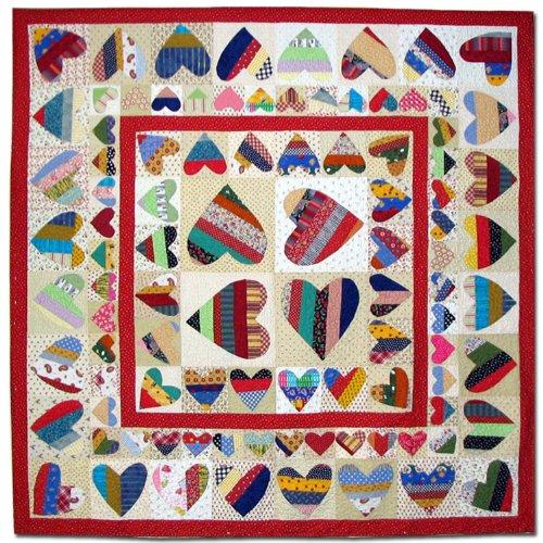 American Jane Patterns Be Mine Quilt