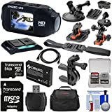 Drift Innovation HD Ghost-S Wi-Fi Waterproof Digital Video Action Camera Camcorder with 64GB Card + 2 Helmet, Flat, Handlebar & Suction Cup Mounts + Battery + Case + Kit