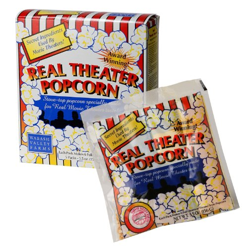Wabash Valley Farms Popcorn - Real Theater - Original - 5-pack (Wabash Valley Farms Popcorn Kits compare prices)