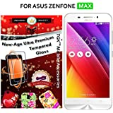 For Asus ZenFone MAX - TGK PREMIUM 9H Hardness ShatterProof Toughened Tempered Glass Screen Protector