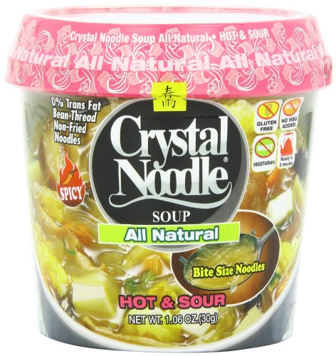 Crystal Noodle All Natural Soup, Hot & Sour, 1.9 Ounce (Pack of 6) (Hot And Sour Soup compare prices)