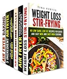img - for Healthy Frying Box Set (6 in 1): Low Carb Stir-Frying, Cast Iron Recipes and Air Fryer Meals (Weight Loss Frying Cookbook) book / textbook / text book