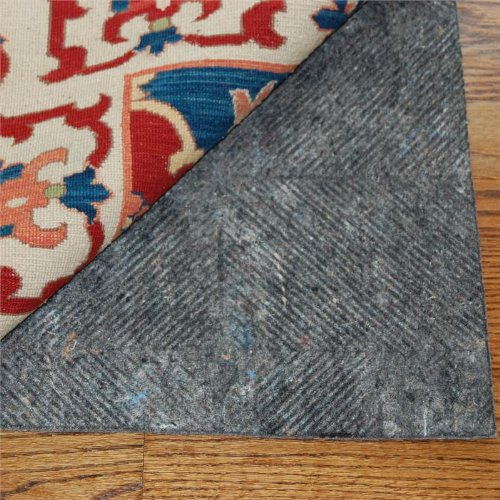 2'x3' Durahold Plus Felt and Rubber Rug Pad for Hard Floors