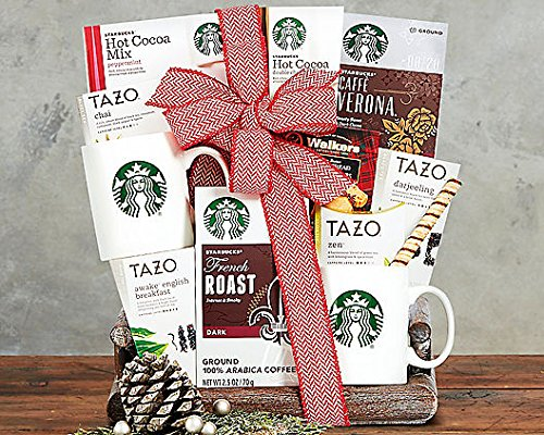Starbucks Coffee and Tazo Tea Collection (Coffee And Tea Gift Basket compare prices)