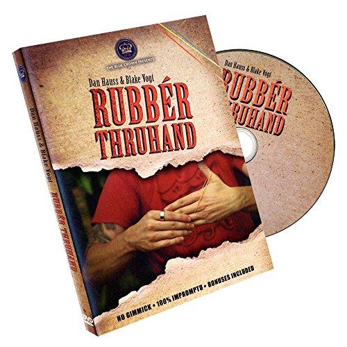 MMS Rubber Thru Hand by Dan Hauss and Blake Vogt - DVD - 1
