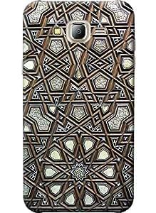 Designer 3D Printed Fancy Hard Back Case Cover For Samsung Galaxy J7 (2016)
