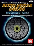 img - for Mel Bay's Master Anthology of Blues Guitar Solos, Vol. 1 book / textbook / text book