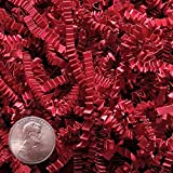Red Basket Filler - (Crinkle Cut) - 10 Pounds