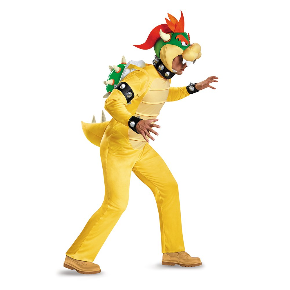 Adult Deluxe Bowser Costume