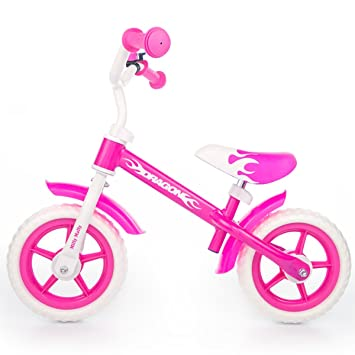 Vélo d'enfants Milly Mally DRAGON ROSE
