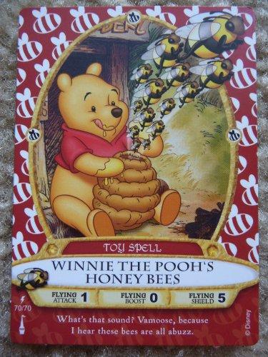 Sorcerers Of The Magic Kingdom - Walt Disney World - Card #70 - Winnie The Pooh'S Honey Bees front-102335